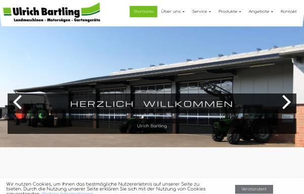 Vorschau von www.landtechnik-bartling.de, Ulrich Bartling