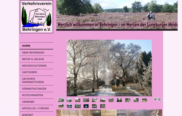 Vorschau von www.behringen-online.de, Behringen