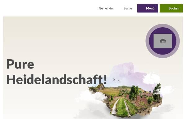 Vorschau von www.bispingen-touristik.de, Bispingen