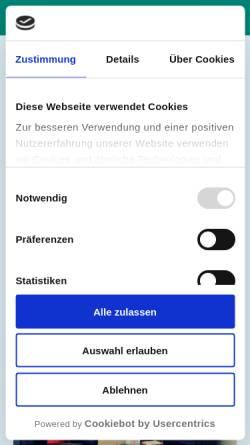 Vorschau der mobilen Webseite www.praxis-stelzer.de, Stelzer, Johannes - Praxis für ärztliche Psychotherapie