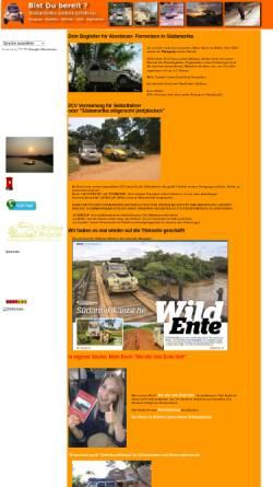 Vorschau der mobilen Webseite www.2cv-tours.de, 2CV-Tours