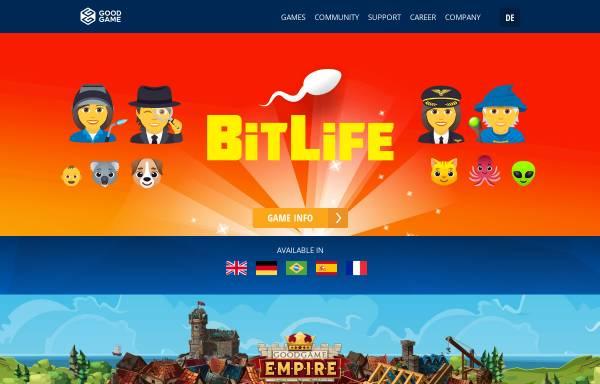 Vorschau von www.goodgamestudios.com, Goodgame Studios - Altigi GmbH