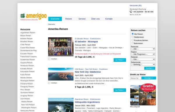Vorschau von www.amerigoo.de, Amerigoo