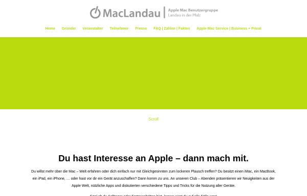 Vorschau von www.maclandau.de, MacLandau