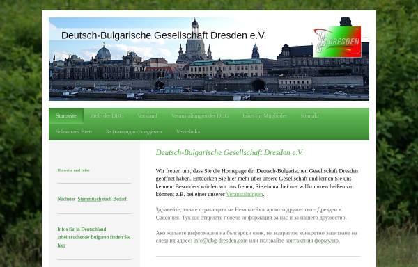 Vorschau von dbg-dresden.com, Deutsch-Bulgarische Gesellschaft Dresden