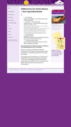 Vorschau der mobilen Webseite www.tacho-mewes.de, Tacho Mewes, Inh. Inga Mewes