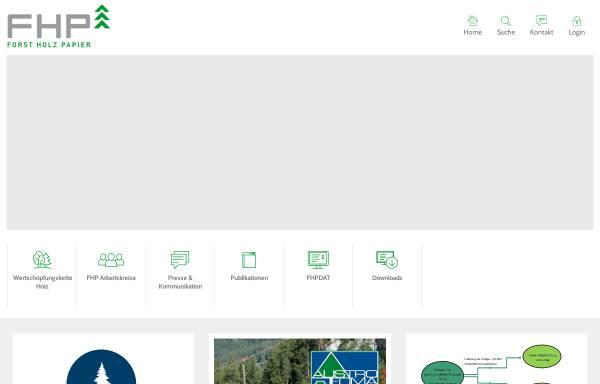Vorschau von www.forstholzpapier.at, Kooperationsabkommen Forst-Platte-Papier (FPP)