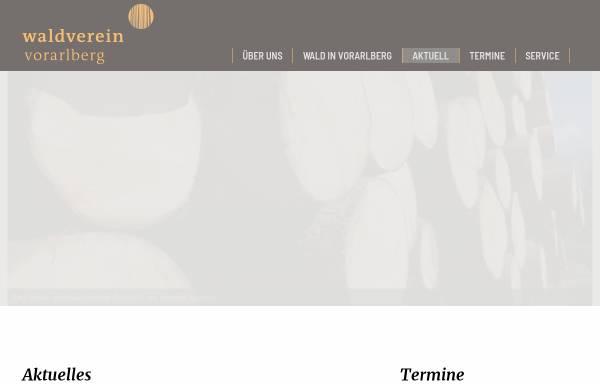 Vorschau von www.waldverein.at, Vorarlberger Waldverein