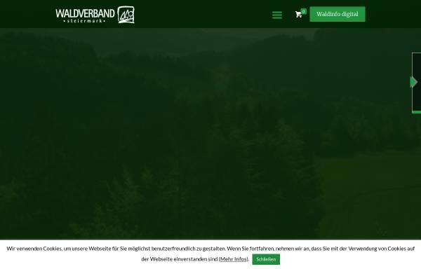 Vorschau von www.waldverband-stmk.at, Waldverband Steiermark