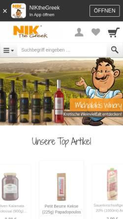 Vorschau der mobilen Webseite www.proastio-shop.de, Proastio