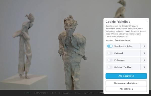 Vorschau von www.koenigsart.de, Künstlerpuppen aus Filz und Papiermaché