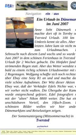 Vorschau der mobilen Webseite dk.wolfgang-schlegel.eu, Urlaub 2007 [Wolfgang Schlegel]