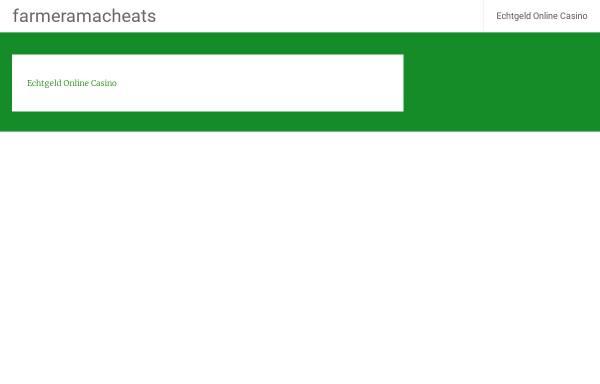 Vorschau von www.farmeramacheats.de, Farmeramacheats