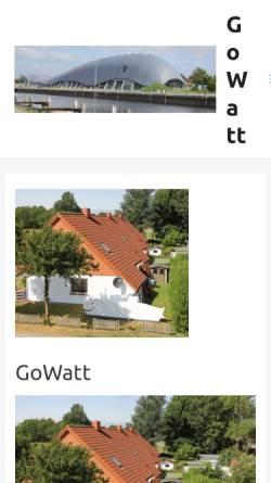 Vorschau der mobilen Webseite www.fewo-live.de, Fewo - Live