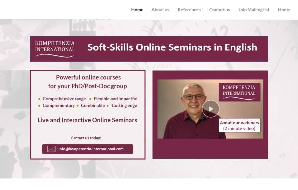 Vorschau von kompetenzia-international.com, Kompetenzia - Svenja Neupert