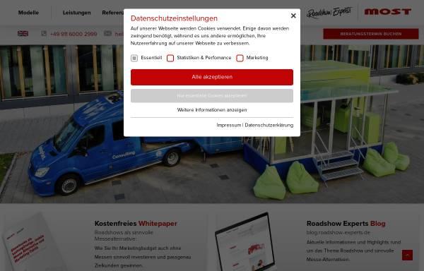 Vorschau von www.most-mobile.de, Most Mobile Specials GmbH