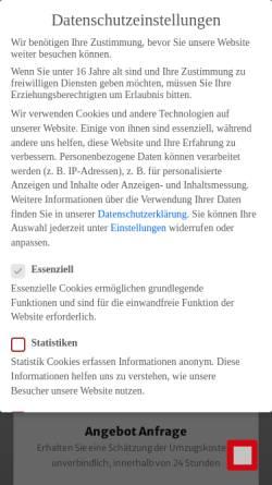 Vorschau der mobilen Webseite www.wienermoebelpacker.at, Wiener Möbelpacker Umzug