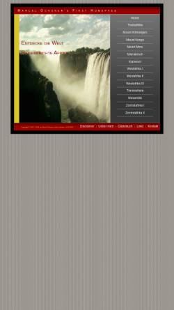 Vorschau der mobilen Webseite www.travellernet.ch, Reiseberichte Afrika [Marcel Ochsner]