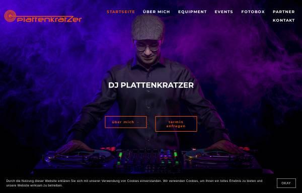 Vorschau von www.dj-plattenkratzer.de, DJ Plattenkratzer