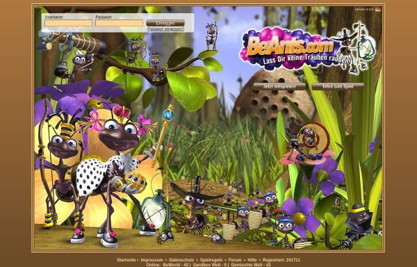 Vorschau von www.beants.com, BeAnts