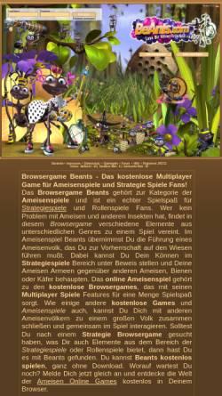 Vorschau der mobilen Webseite www.beants.com, BeAnts
