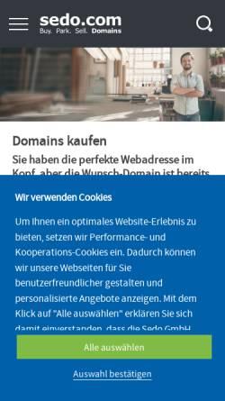 Vorschau der mobilen Webseite www.breakeven-point.de, Break Even Point