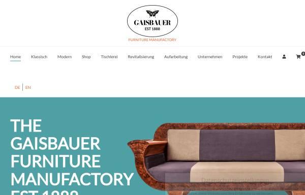 Vorschau von www.gaisbauer.co.at, Gaisbauer Interior Design