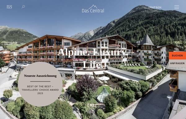 Vorschau von www.central-soelden.com, Hotel Tirol - central-soelden.com