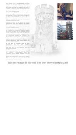Vorschau der mobilen Webseite www.weckschnapp.de, weckschnapp