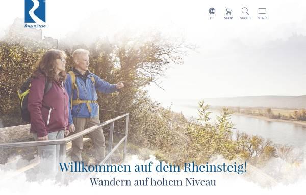 Vorschau von www.rheinsteig.de, Der Rheinsteig von Bonn nach Wiesbaden