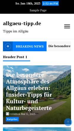 Vorschau der mobilen Webseite www.tunerportal.de, Alles rund ums Auto und Tuning