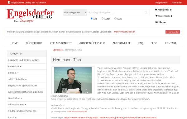 Vorschau von www.tino-hemmann.de, Hemmanns