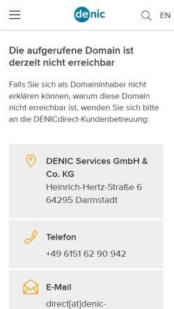 Vorschau der mobilen Webseite www.e-nox.de, e-NOX Internetagentur Oldenburg - erstellt professionelle Webauftritte für Unternehmen.