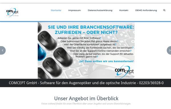 Vorschau von www.comcept-koeln.de, Comcept GmbH