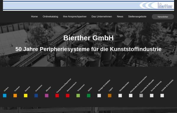 Vorschau von www.bierther.gmbh, bierther GmbH