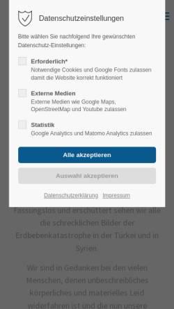 Vorschau der mobilen Webseite www.delwo.de, DELWO Metallhandel GmbH