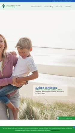 Vorschau der mobilen Webseite www.usedomservice.de, Sonneninsel Usedom