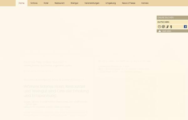 Vorschau von www.woerners-schloss.de, Wörners Schloss Weingut & Hotel Franken