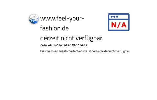 Vorschau von www.feel-your-fashion.de, Feel your Fashion - T-Shirt Shop