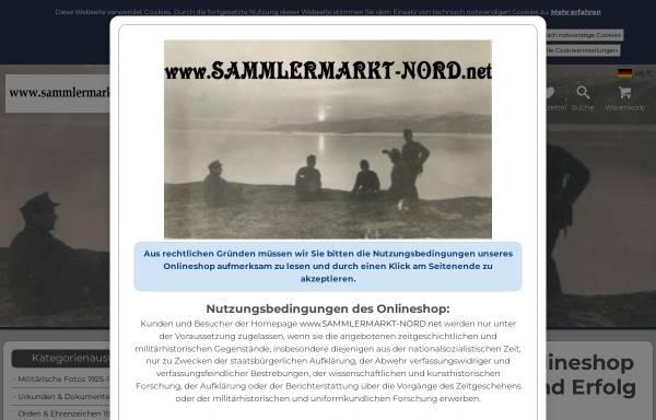 Vorschau von www.sammlermarkt-nord.net, Sammlermarkt Nord