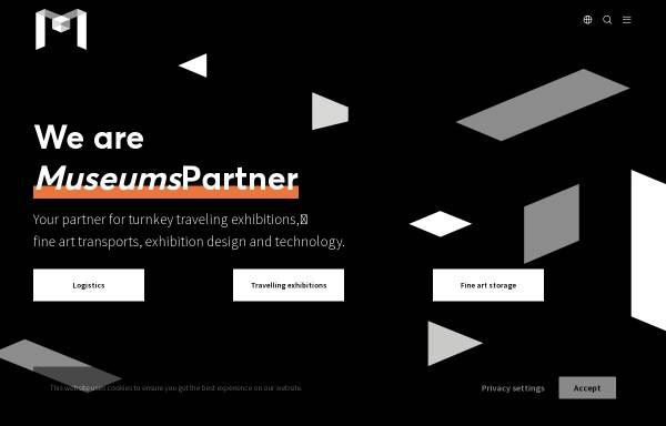 Vorschau von www.museumspartner.com, MuseumsPartner – Die Kunstspedition