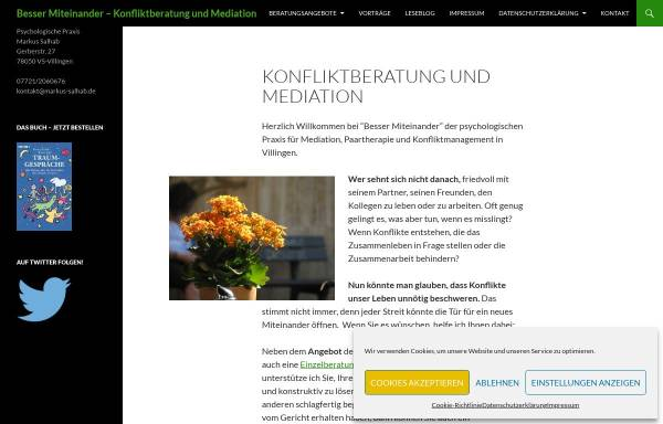 Vorschau von www.markus-salhab.de, Diplom Psychologe - Markus Salhab - Traumberatung