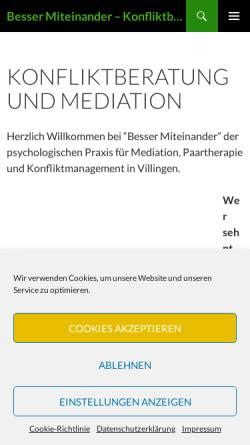 Vorschau der mobilen Webseite www.markus-salhab.de, Diplom Psychologe - Markus Salhab - Traumberatung
