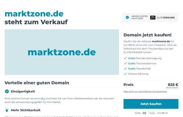 Vorschau von www.marktzone.de, Marktzone.de-das Verbraucherportal