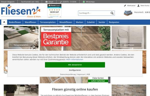 Vorschau von www.fliesen24.com, fliesen24.com