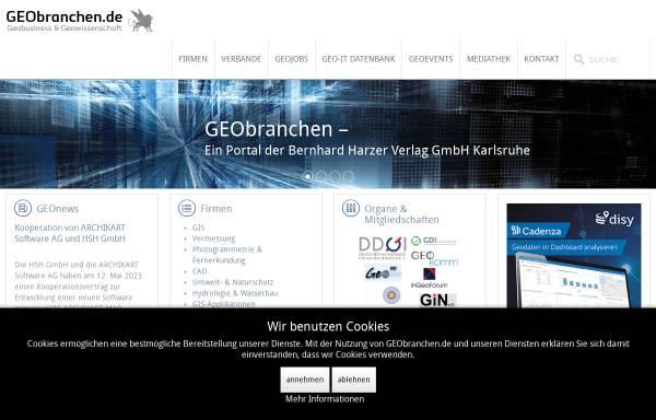 Vorschau von www.geobranchen.de, GEObranchen.de