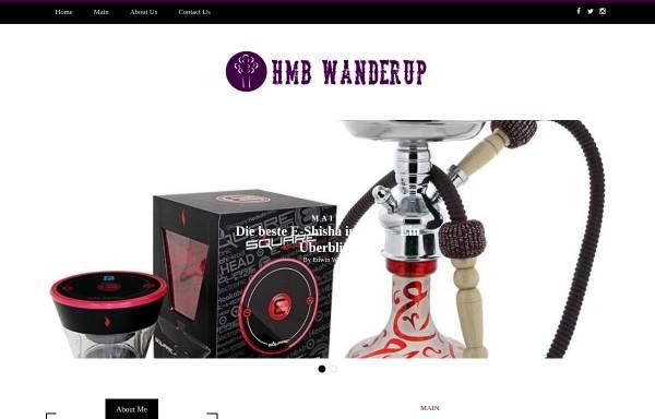 Vorschau von www.hmb-wanderup.de, Haus & Montagebau Wanderup