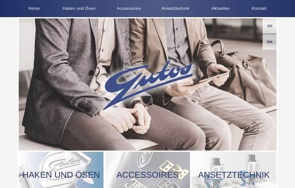 Vorschau von www.gutos.de, Hook Fastener - Gutos GmbH
