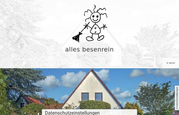 Vorschau von www.ab-allesbesenrein.de, Haushaltsauflösungen, Entrümpelungen, & mehr