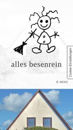 dd80e2ac1951d7 ... mehr Vorschau der mobilen Webseite www.ab-allesbesenrein.de